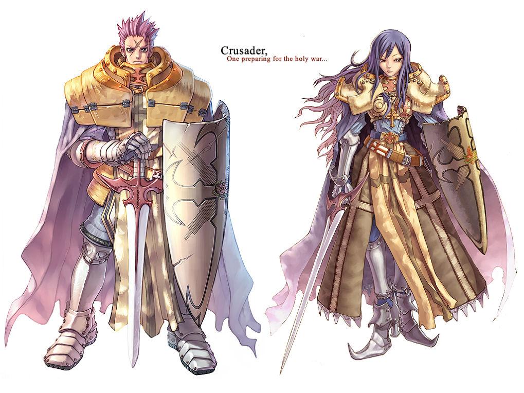 แนะนำอาชีพ Crusader อัศวินศักดิ์สิทธิ์จาก Ragnarok Online