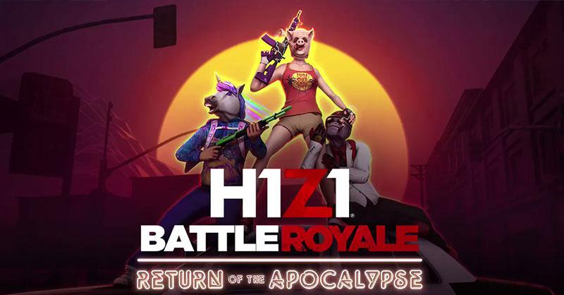 H1Z1: Battle Royale อัพเดตแผนที่ใหม่นามว่า